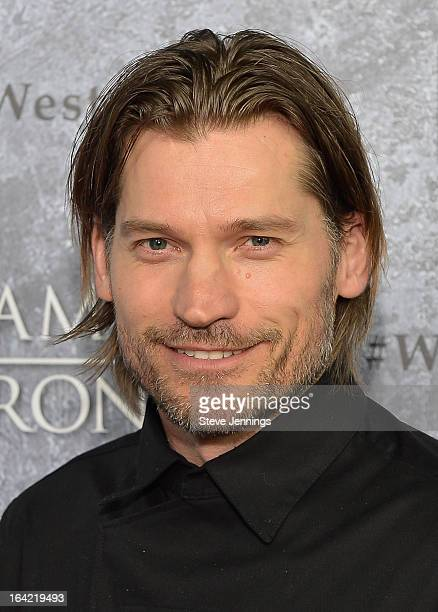 Nikolaj CosterWaldau attends the Season 3 Premiere of HBO's 'Game Of Thrones' at Palace Of Fine Arts Theater on March 20 2013 in San Francisco...
