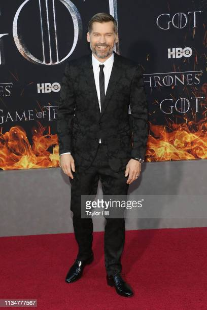 Nikolaj CosterWaldau attends the Season 8 premiere of Game of Thrones at Radio City Music Hall on April 3 2019 in New York City