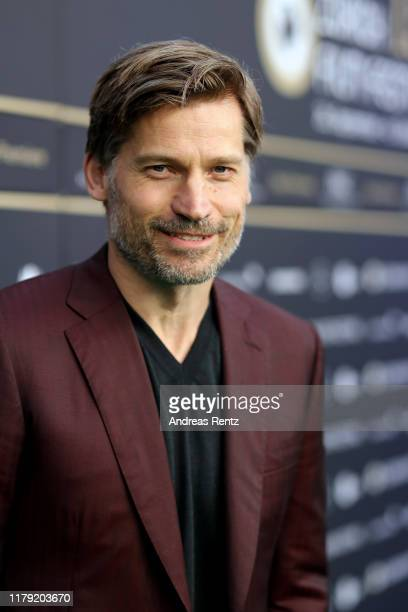 "Nikolaj Coster-Waldau attends the ""Suicide Tourist"" premiere during the 15th Zurich Film Festival at Kino Corso on October 05, 2019 in Zurich,..."