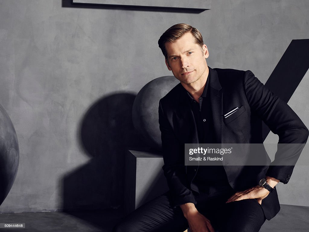 Nikolaj Coster-Waldau is photographed for The Hollywood Reporter on May 31, 2015 in Los Angeles, California.