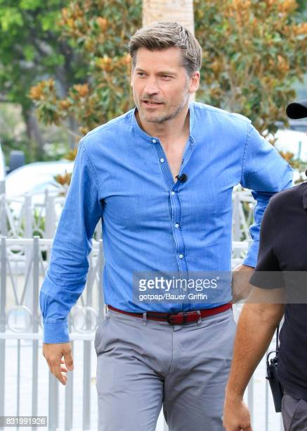 Nikolaj CosterWaldau is seen on August 15 2017 in Los Angeles California
