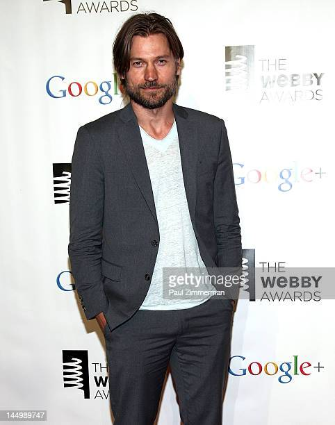 Nikolaji Coster-Waldau attends the 16th Annual Webby Awards at Hammerstein Ballroom on May 21, 2012 in New York City.