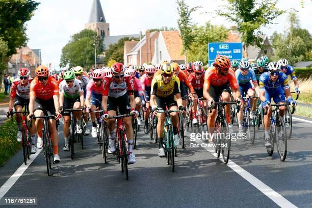 Nikolas Maes of Belgium and Team Lotto Soudal / Gijs Van Hoecke of Belgium and CCC Team / Julien Vermote of Belgium and Team Dimension Data / Logan...