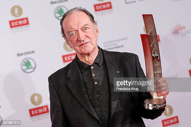 Nikolaus Harnoncourt attends the ECHO Klassik 2014 on October 26, 2014 in Munich, Germany.