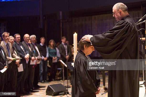 Nikolaus Schneider Chairman of the Council of the Evangelical Church in Germany appoints Margot Kaessmann as the new ambassador of the Lutheran...