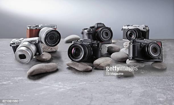 Nikon 1 J5 Fuji XA2 Fuji XT10 Sony A7R II Olympus PENF and a Fuji XPro2 compact system digital camera taken on March 8 2016