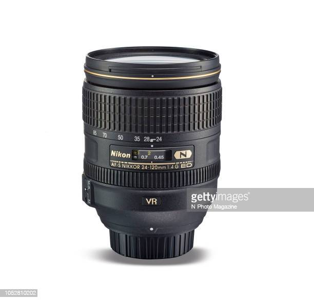 A Nikon AFS 24120mm f/4G ED VR standard zoom camera lens taken on May 9 2017