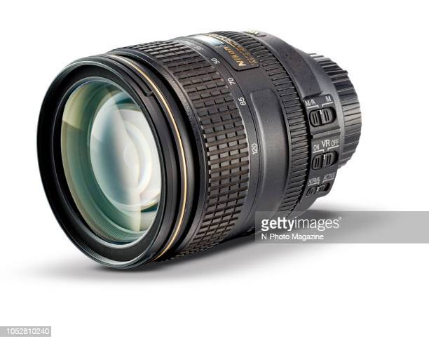 A Nikon AFS 24120mm f/4G ED VR standard zoom camera lens taken on May 9 2017