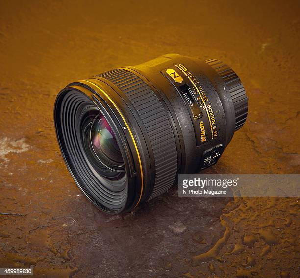 A Nikon AFS 24mm f/14G ED lens photographed for a feature on wide angle lenses compatible with fullframe Nikon cameras taken on March 26 2014