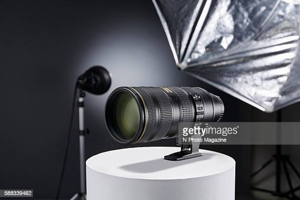 A Nikon AFS 70200mm f/28G ED VR II lens photographed for a feature on portrait lenses taken on September 17 2015