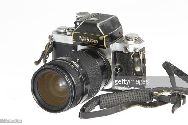 Nikon brand camera is seen in Ankara, Turkey on March 17, 2020. Emin Sansar / Anadolu Agency