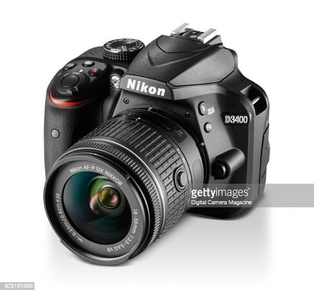 A Nikon D3400 digital SLR camera with a 1855mm AFP VR lens taken on October 17 2016