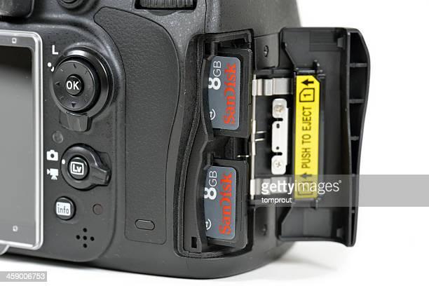 Nikon D600 DSLR Camera Dual Memory Slots