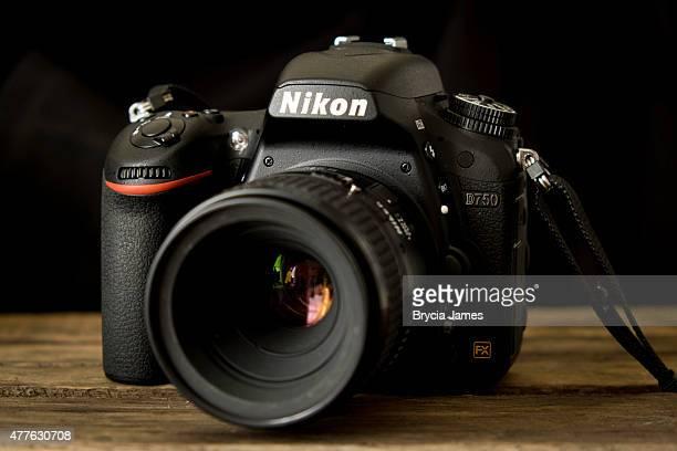 nikon d750 digital camera - nikon stock pictures, royalty-free photos & images