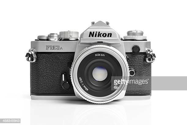 nikon fm3a - nikon stock pictures, royalty-free photos & images