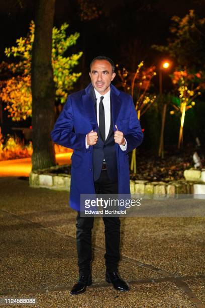 Nikos Aliagas attends 17th 'Diner De La Mode' To Benefit Sidaction At Pavillon d'Armenonville as part of Paris Fashion Week on on January 24 2019 in...
