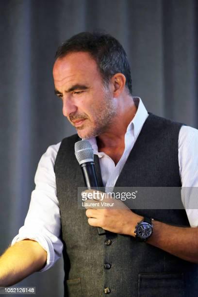 Nikos Aliagas attends 'Les Amis de Yann ArthusBertrand se Vendent aux Encheres' Auction in Domaine de Longchamps on October 14 2018 in Paris France