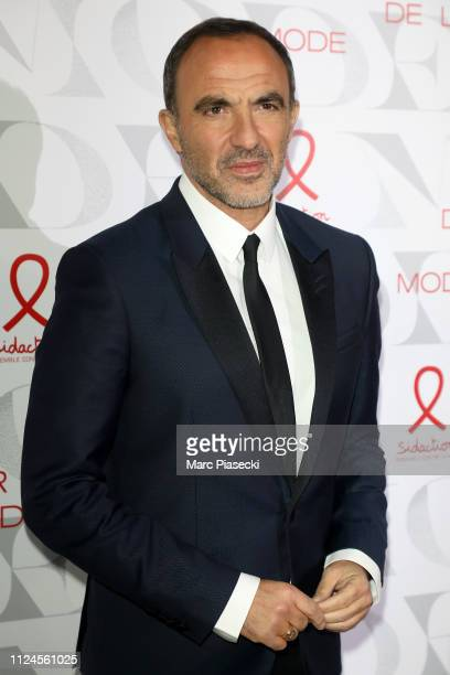 Nikos Aliagas attends the 17th 'Diner De La Mode' as part of Paris Fashion Week on January 22 2019 in Paris France