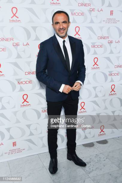 Nikos Aliagas attends the 17th 'Diner De La Mode' as part of Paris Fashion Week on January 24 2019 in Paris France