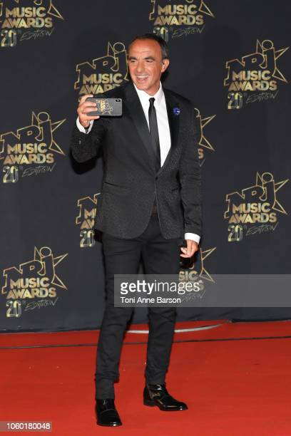 Nikos Aliagas attends the '20th NRJ Music Awards' at Palais des Festivals on November 10 2018 in Cannes France