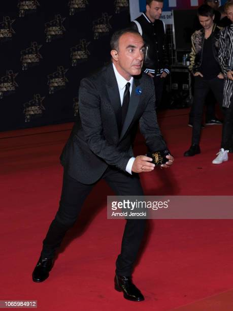 Nikos Aliagas attends the 20th NRJ Music Awards at Palais des Festivals on November 10 2018 in Cannes France