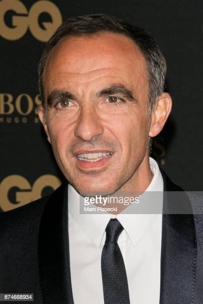 Nikos Aliagas attends the 'GQ Men of the year awards 2017' at Le Trianon on November 15 2017 in Paris France