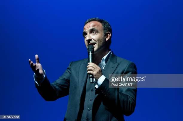Nikos Aliagas live a 'l'Olympia' le 14 avril 2016 à Paris France