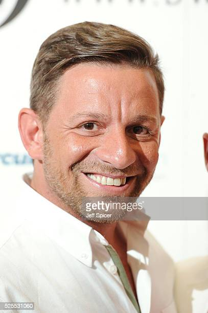 Nikos Liolios arrives at the launch of the 2016 annual BLOCH Dance World Cup on April 28 2016 in London England
