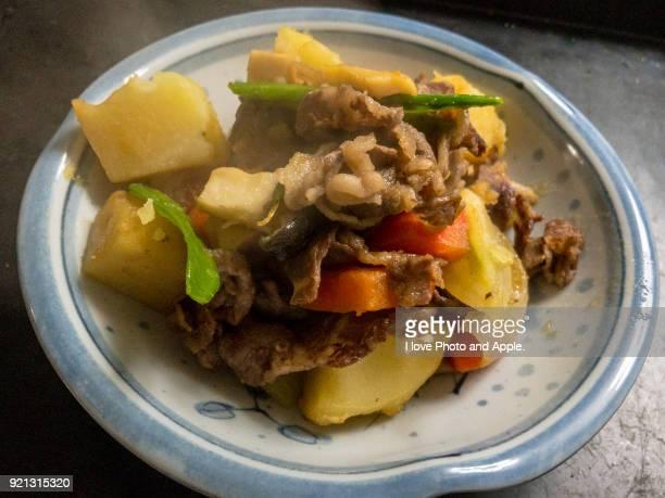 Niku-jaga (simmered meat and potatoes)