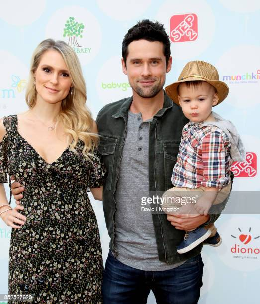 Nila Myers and actor Ben Hollingsworth attend the 6th Annual Celebrity Red CARpet Safety Awareness Event at Sony Studios Commissary on September 23...
