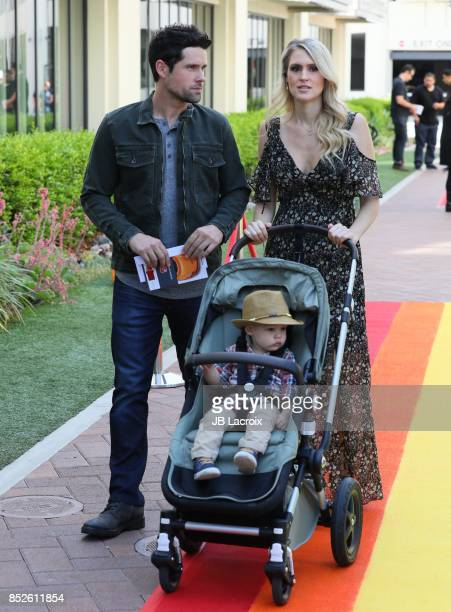 Nila Myers and Ben Hollingsworth attend the 6th Annual Celebrity Red CARpet Safety Awareness Event on September 23 2017 in Culver City California