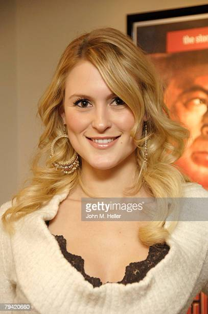 Nila Myers attends the dedication of the new Stanley Kramer Theater at the Sunset Gower Studios on January 30 2008 in Hollywood California