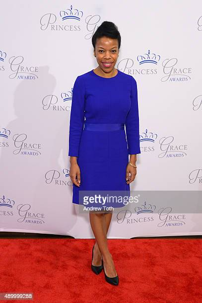 Nilaja Sun attends the 2015 Princess Grace Awards at 583 Park Avenue on September 25 2015 in New York City