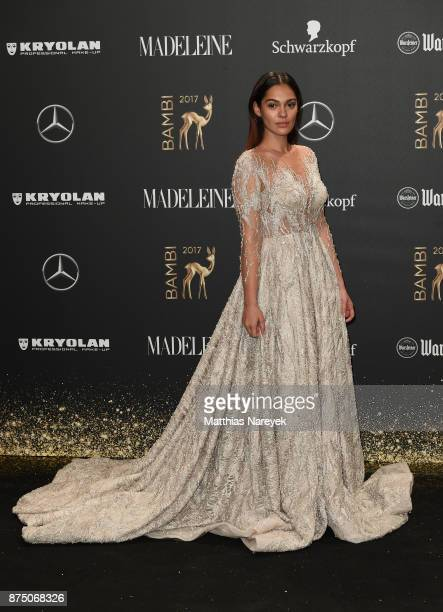 Nilam Farooq arrives at the Bambi Awards 2017 at Stage Theater on November 16 2017 in Berlin Germany