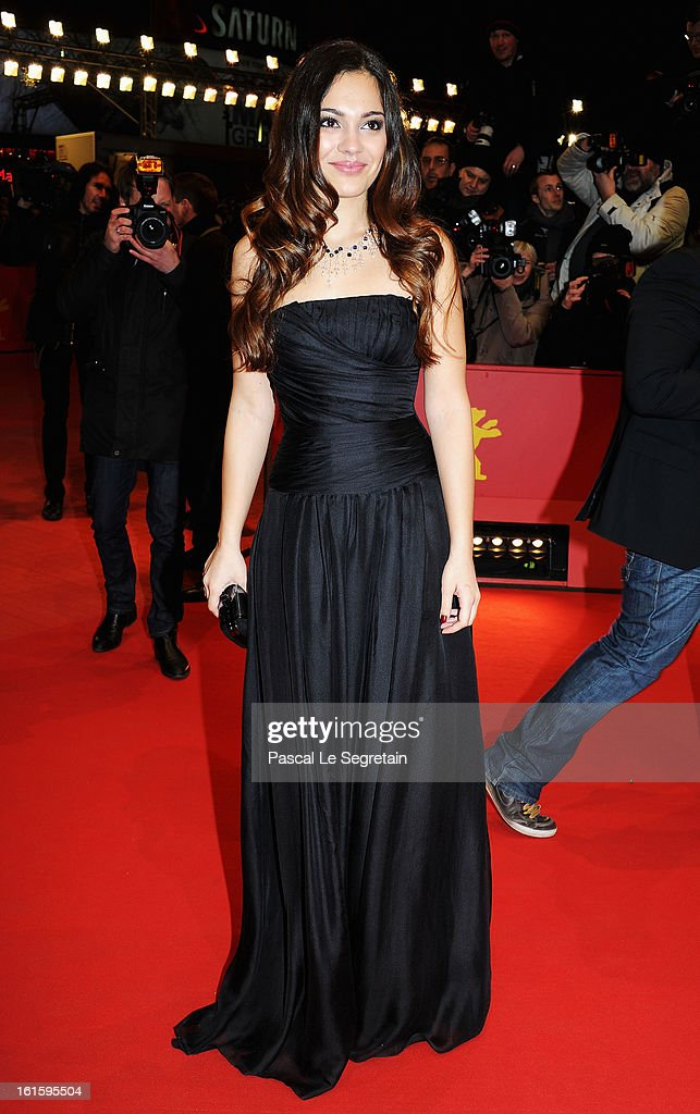 Nilam Farooq attends the 'Side Effects' Premiere during the 63rd Berlinale International Film Festival at Berlinale Palast on February 12, 2013 in Berlin, Germany.