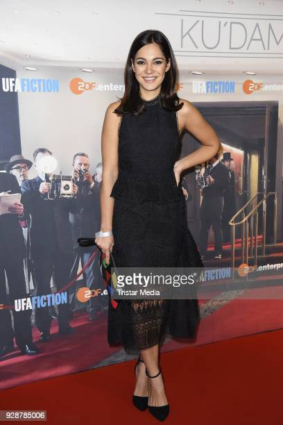 Nilam Farooq during the premiere of 'Ku'damm 59' at Cinema Paris on March 7 2018 in Berlin Germany
