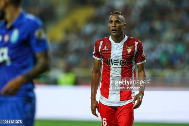 Nildo Petrolina of Desportivo das Aves during the match between FC Porto and Desportivo das Aves for the Portuguese Super Cup at Estadio Municipal de...