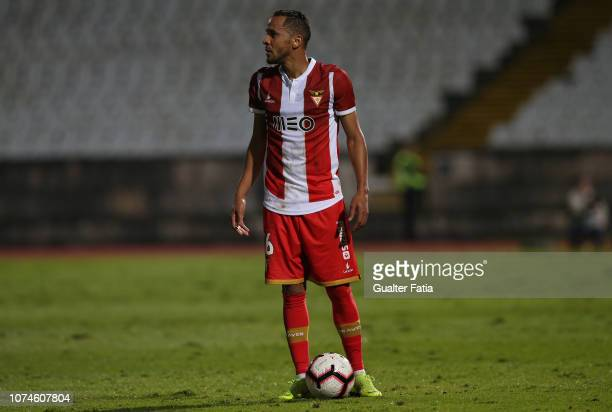 Nildo Petrolina of Desportivo das Aves in action during the Liga NOS match between Belenenses SAD and CD Aves at Estadio Nacional on December 22 2018...