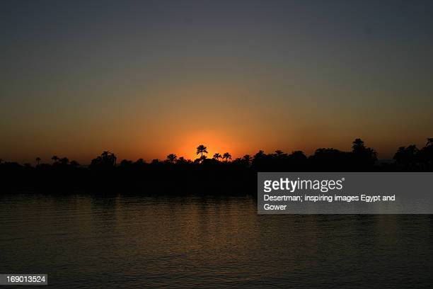 Nile at sunset