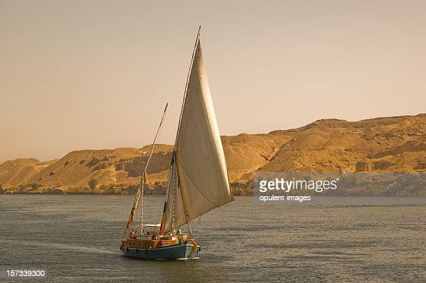 nile felucca cruise - aswan stock pictures, royalty-free photos & images