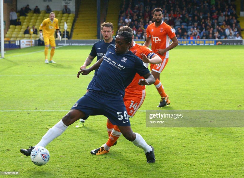 Southend United v Blackpool - Sky Bet League One