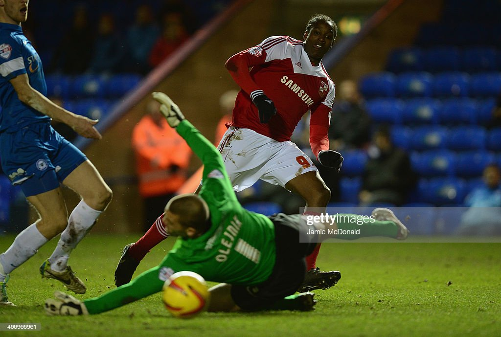 Peterborough United v Swindon Town - Johnstone's Paint Southern Area Final