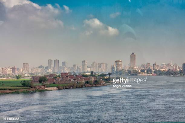 Nile River as it passes through Cairo
