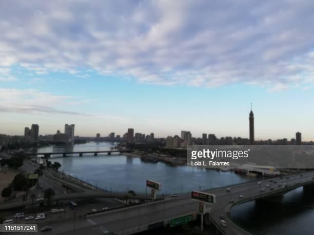 Nile river in Cairo city, Egypt