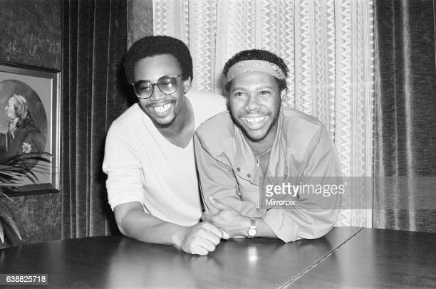 Nile Rodgers and Bernard Edwards founding members of music group Chic pictured in London 6th August 1981