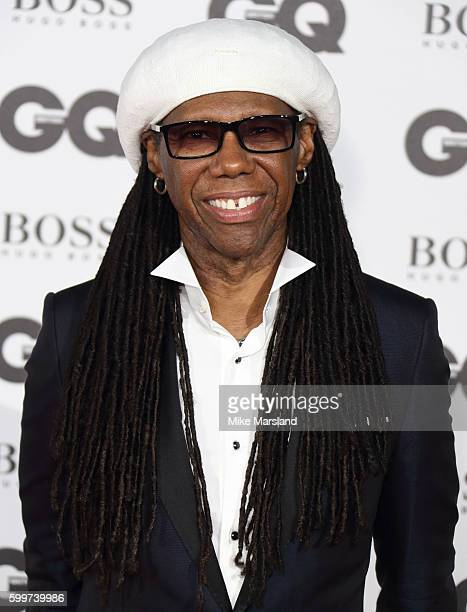 Nile Rodgers arrives for GQ Men Of The Year Awards 2016 at Tate Modern on September 6 2016 in London England