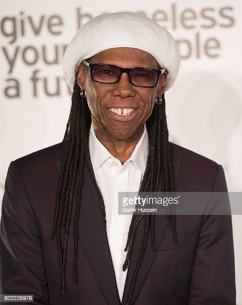 Nile Rodgers attends Centrepoint At The Palace at Kensington Palace on November 10 2016 in London England