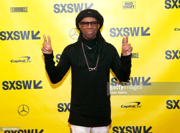 Nile Rodgers attends Music Business 101 A QA with Legendary Music Icon Nile Rodgers during SXSW at Austin Convention Center on March 14 2018 in...
