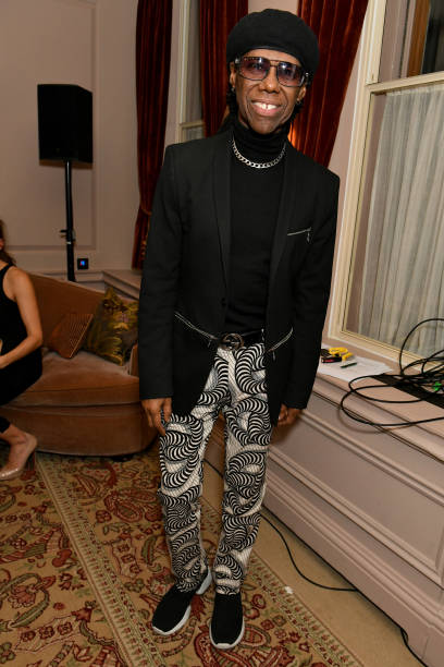 GBR: Nile Rodgers' BRIT Awards 2020 Viewing Party