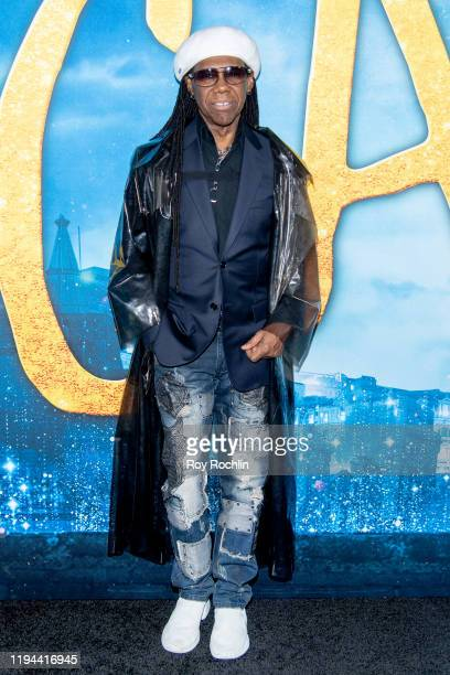 """Nile Rodgers attends the """"Cats"""" World Premiere at Alice Tully Hall, Lincoln Center on December 16, 2019 in New York City."""
